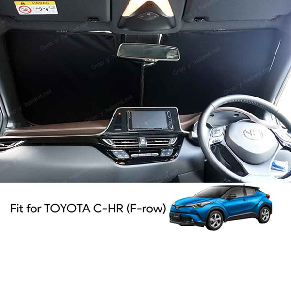 TOYOTA C-HR F-row (1 pcs)